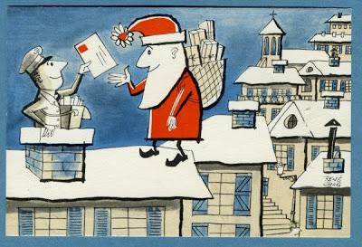 Dolgo-Carte père Noël 1962