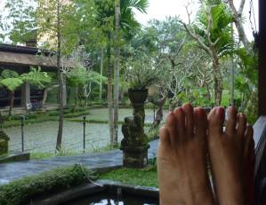 pieds-Ubud