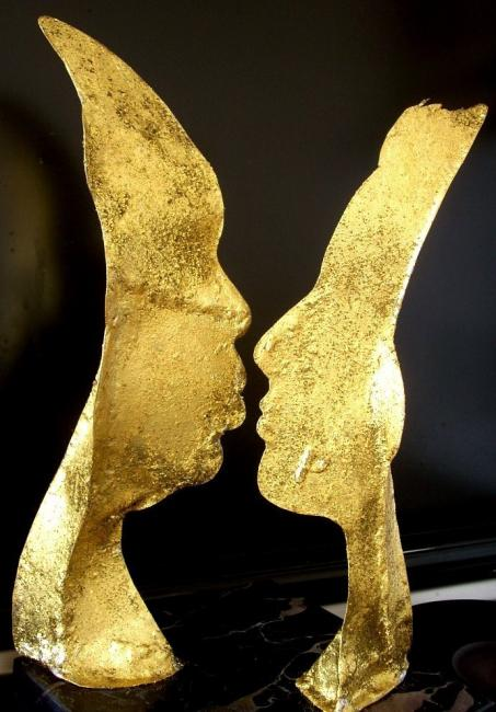 Le baiser Sculpture Paul PACOTTO