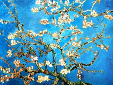 Van Gogh Branche d' amandier en fleur