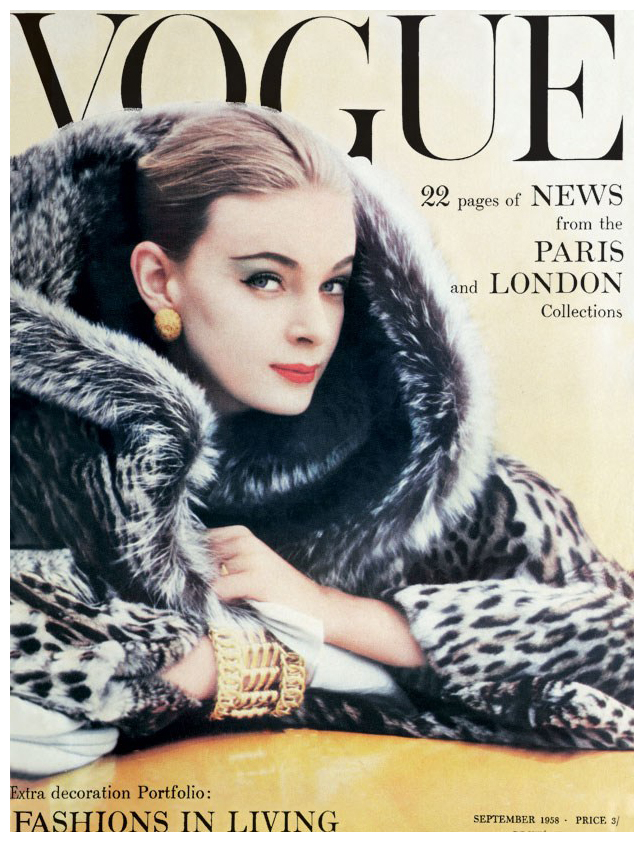 Norman-Parkinson-Nena-von-Schlebrügge-couverture-vogue