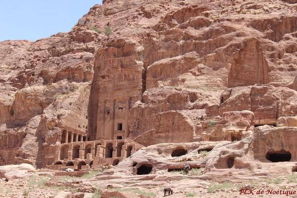 Pétra-jordanie-tombeaux