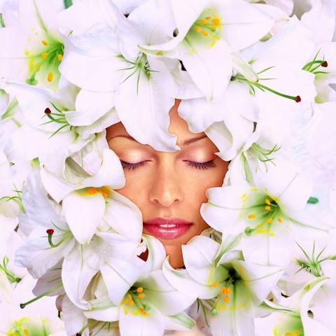 femme-en-fleur