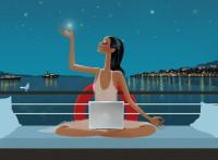 Yoga-attraper-une-étoile-muppie