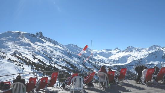 ski restaurant d'altitude vercorin suisse