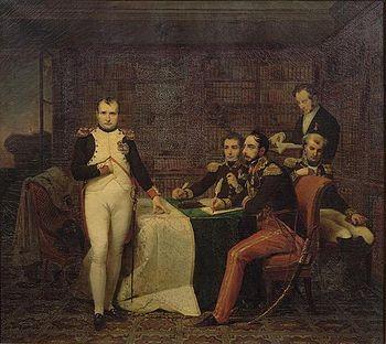 Napoléon-dictant-ses-mémoires