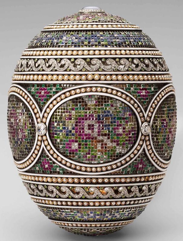 Fabergé-oeuf-mosaique-1914