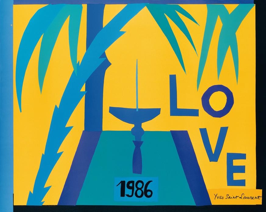 Love-Yves-Saint-Laurent-Cartes-de-vœux