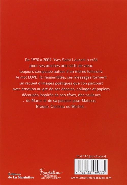 album-Love-Yves-Saint-Laurent-Cartes-de-vœux--couverture