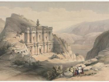 David-Roberts-El-Deir-Petra