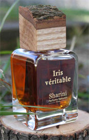 iris veritable sharini parfum bio