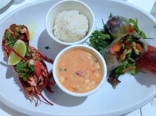 Maho restaurant luxembourg 3 homards