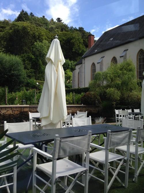 Maho terrasse restaurant Luxembourg
