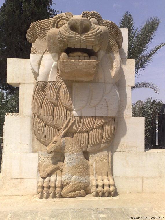 Lion d'Al-Lat-de-Palmyre