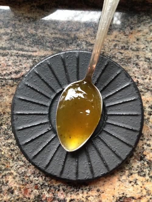 cuillère-gelée-thé-matcha