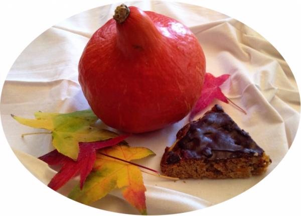 gâteau-pom'potimarron-nappé-chocolat-automne