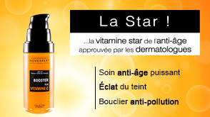 le s rum booster la vitamine c de novexpert. Black Bedroom Furniture Sets. Home Design Ideas