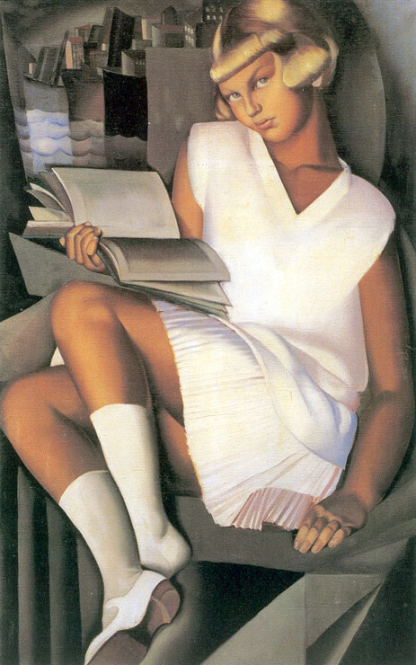 Kizette-en-rose-by-Tamara-de-Lempicka
