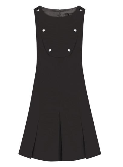 karl-lagerfeld-robe-noire-plastron