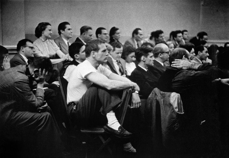 Paul-Newman-at-The-Actors-Studio-1951-Eve-Arnold