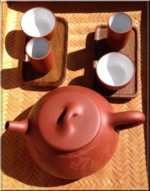 gong-fu-cha-théière-tasse-à-sentir-et-à-boire