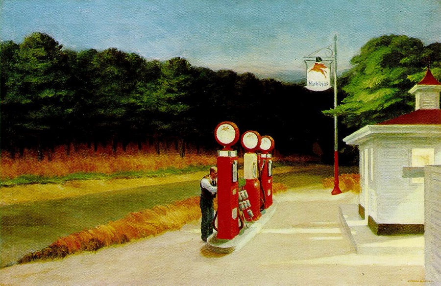 gas.edward-hopper