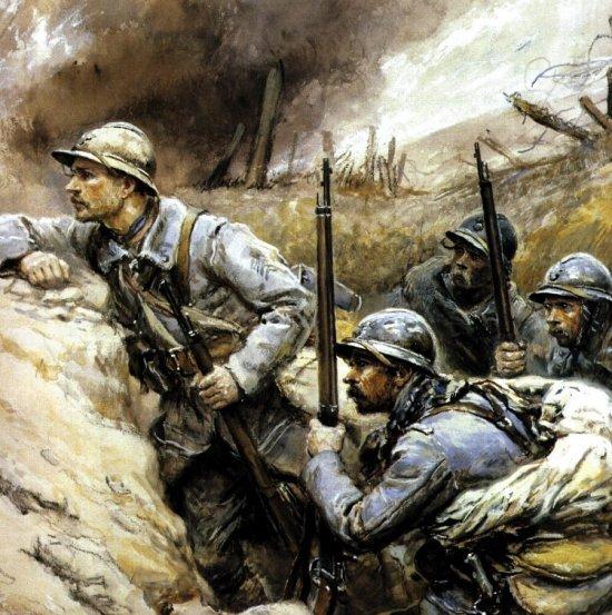 soldats-dans-les-tranchées-guerre-14-18
