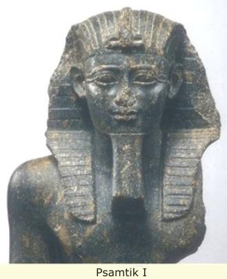 egypte-buste-pharaon-psamtik