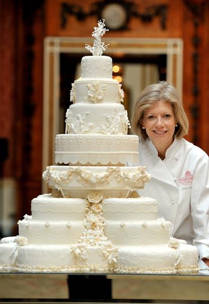 gâteau mariage kate et william