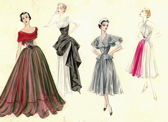 modèles-madame-Grès-4-tenues