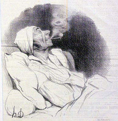 pipe-matinale-daumier-caricature