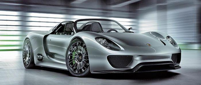 voiture-écologique-Porsche918-Spyder-concept