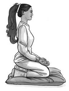 position-birmane-du-méditant