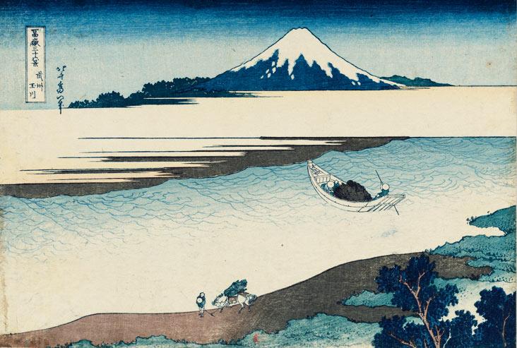 hokusai mont fuji