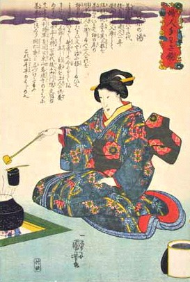 kuniyoshi-chanoyu-ceremonie-du-thé