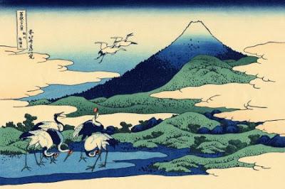 36 vues mont fuji hokusai