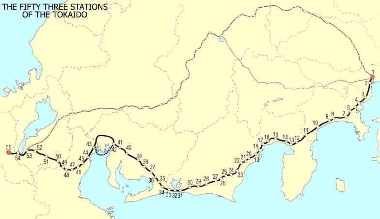 carte-des-stations-de-la-route-de-tokaido