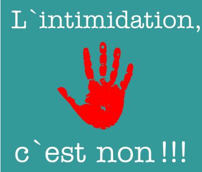 intimidation-c-est-non