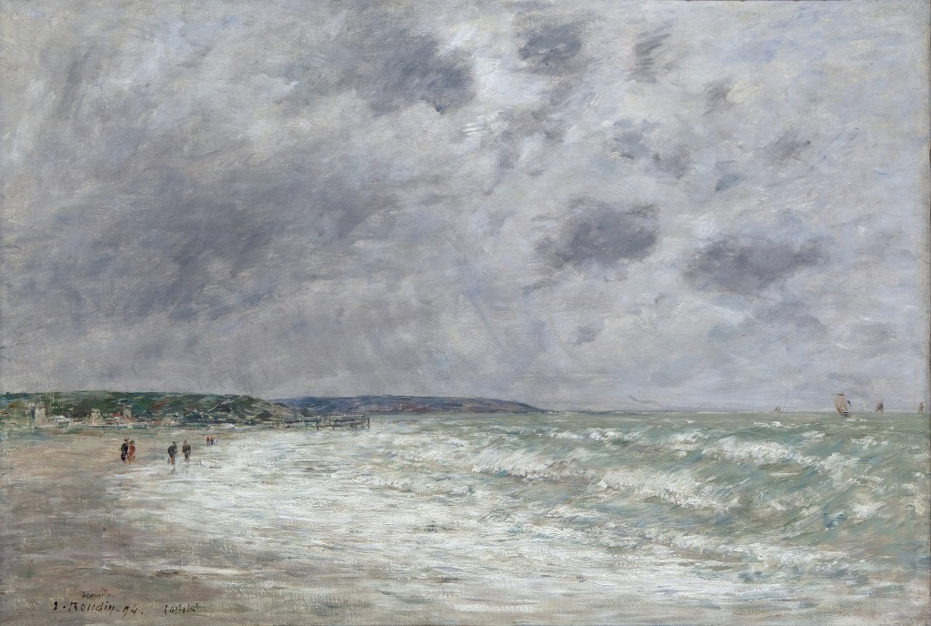 marée-montante-à-Deauville-boudin