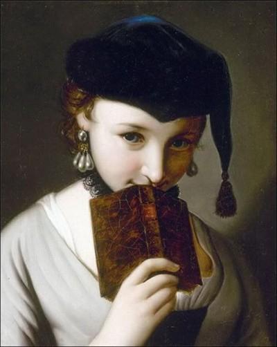 Piero-Antonio-Rotari-jeune-fille-au-livre