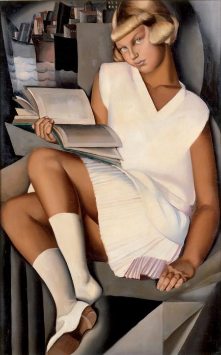 tamara lempika femmes qui lisent