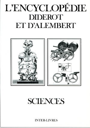 encyclopédie diderot d'alembert-sciences