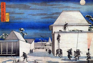 47-Ronins-hokusai-japon