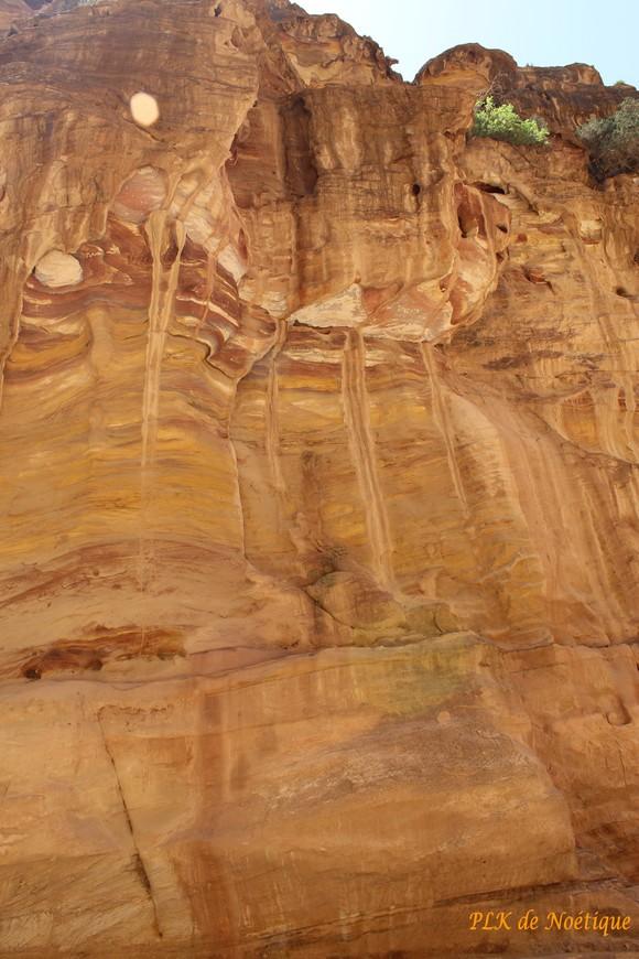 Pétra-le siq-grès-colorés