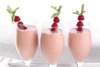 Cheesecake-Smoothie-aux-framboises
