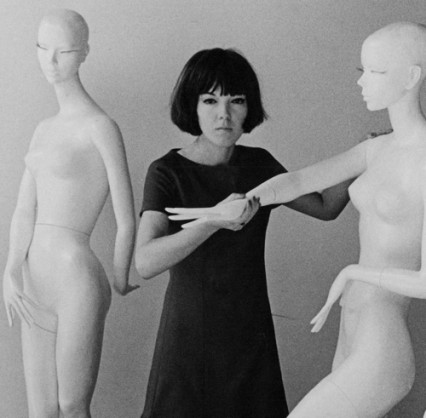 Mary-Quant-in-her-studio-London-1963
