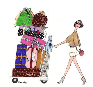 fille-avec-beaucoup-bagages