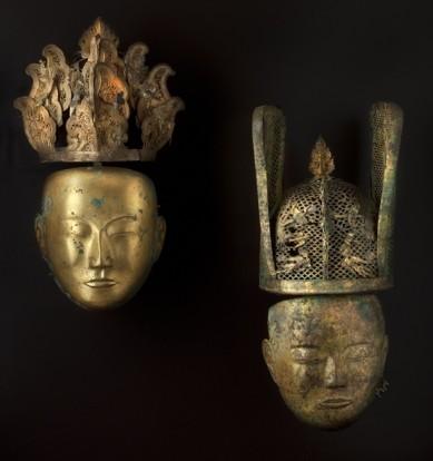 Musée-Cernuschi-masques-funéraires-mongolie