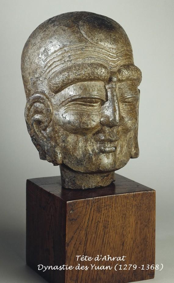 tête-d-ahrat-dynastie-des-yuan