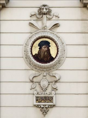 medaillon-leonard-de-Vinci-musée-cernuschi